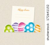 easter card | Shutterstock .eps vector #172641152