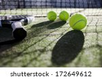 paddle tennis objects ion... | Shutterstock . vector #172649612
