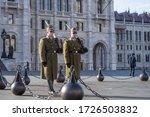 Budapest  Hungary   April 2020...