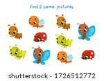 find 2 same pictures.... | Shutterstock .eps vector #1726512772