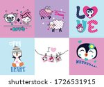 cartoon cute animals for baby.... | Shutterstock .eps vector #1726531915