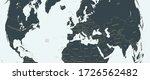 global world map with rounding... | Shutterstock .eps vector #1726562482