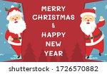 santa claus cartoon character... | Shutterstock .eps vector #1726570882