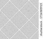 art deco pattern. vector black... | Shutterstock .eps vector #1726585915