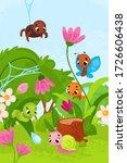 vector illustration with... | Shutterstock .eps vector #1726606438
