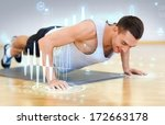 fitness  sport  training  gym... | Shutterstock . vector #172663178