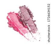 flat lay of brush strokes....   Shutterstock . vector #1726634152