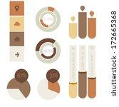 flat design infographic...