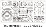 beautiful vintage frame... | Shutterstock .eps vector #1726703812