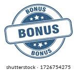 bonus stamp. bonus round grunge ...   Shutterstock .eps vector #1726754275
