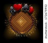 casino banner | Shutterstock .eps vector #172675952