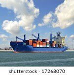 container ship | Shutterstock . vector #17268070