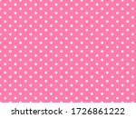 White Polka Dot Background...