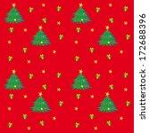 christmas tree texture | Shutterstock .eps vector #172688396