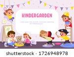 children play together in...   Shutterstock .eps vector #1726948978