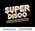 vector elite banner super disco.... | Shutterstock .eps vector #1726950028