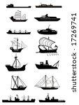ship silhouette vector file
