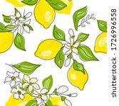seamless texture of yellow...   Shutterstock .eps vector #1726996558