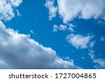 abstract white clouds in the... | Shutterstock . vector #1727004865