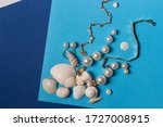 Jewelry Set Composition On...