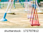 playground swing in the park | Shutterstock . vector #172707812