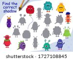 mini games collection for kids. ... | Shutterstock .eps vector #1727108845