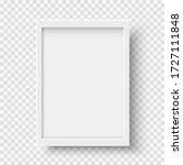 White Blank Picture Frame ...
