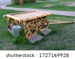 Old Russian Horse Cart In The...