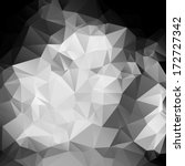 black and white abstract... | Shutterstock .eps vector #172727342