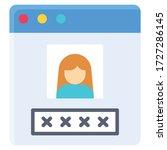 user profile or window...