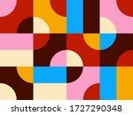 abstract vector geometric...   Shutterstock .eps vector #1727290348