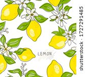seamless texture of yellow...   Shutterstock .eps vector #1727291485
