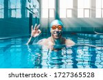 Portrait Of A Man In The Pool....