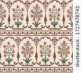 abstract mughal motif bunch ... | Shutterstock .eps vector #1727478742