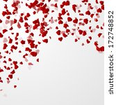 valentines day background with... | Shutterstock .eps vector #172748852