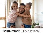 head shot portrait smiling... | Shutterstock . vector #1727491042