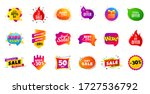 sale banner tags. discount... | Shutterstock .eps vector #1727536792