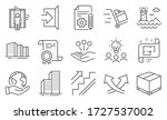 set of industrial icons  such...   Shutterstock .eps vector #1727537002