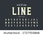 line green font with white... | Shutterstock .eps vector #1727553868