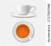 vector 3d realistic white... | Shutterstock .eps vector #1727565388