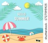 Hello Summer With Beach...