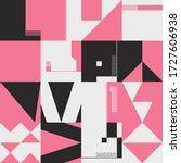 neo modernism artwork pattern...   Shutterstock .eps vector #1727606938