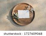 summer wedding stationery mock...   Shutterstock . vector #1727609068