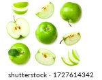 Green Apples With Slices...
