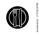 fork and knife icon  logo... | Shutterstock .eps vector #1727615998