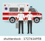 hospital staff concept.... | Shutterstock .eps vector #1727616958