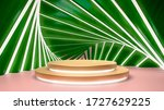 abstract tropical background... | Shutterstock . vector #1727629225