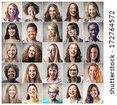 girls | Shutterstock . vector #172764572