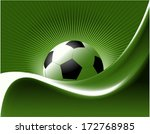 abstract football background | Shutterstock .eps vector #172768985