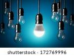 Led Bulb And Simple Light Bulb...